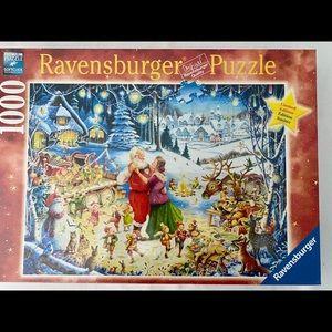 Ravensburger Christmas Santa Puzzle NEW 1000 pc